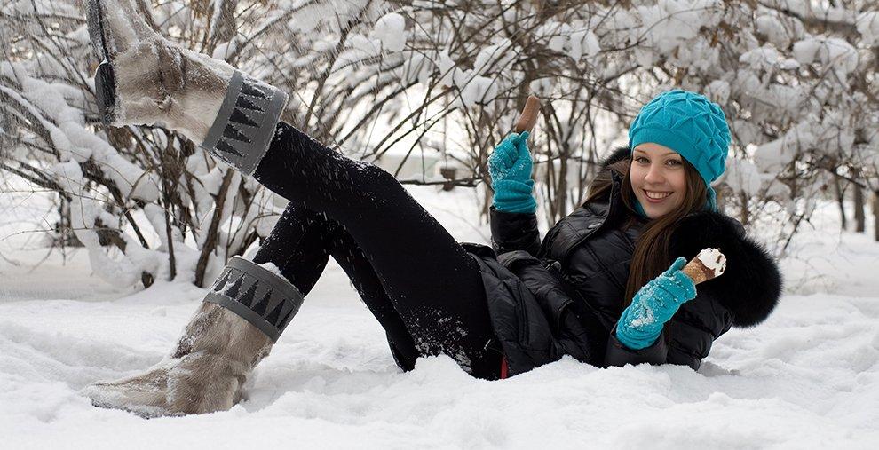 Inverno também é tempo de sorvete!
